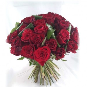 SAINT VALENTIN 2017 - Bouquet de roses rouges